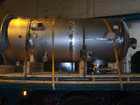 Gas Scrubber - loading for dispatch