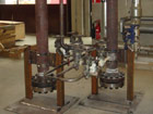 "8"" KSS Cyclone Steam Separators c/w drain reservoir, steam traps and drain isolating valves"