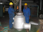 "12"" KSS Cyclone Steam Separator prior to installation - steam turbine protection"