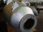 "20"" KSS Cyclone Steam Separator view at inlet"